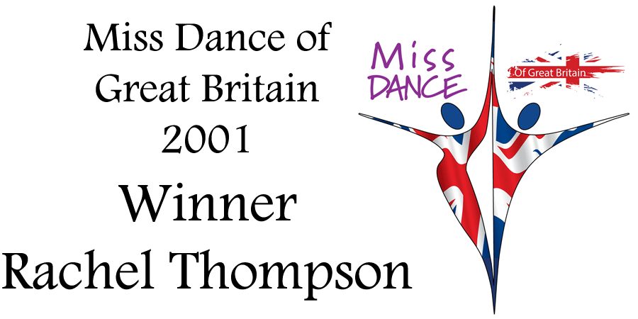 Miss Dance of Great Britian 2001 Winner Rachel Thompson